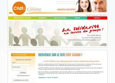 Site de la CFDT Casino