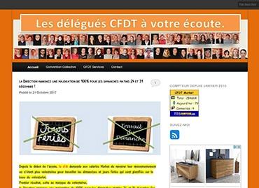 Site de la CFDT Carrefour Market